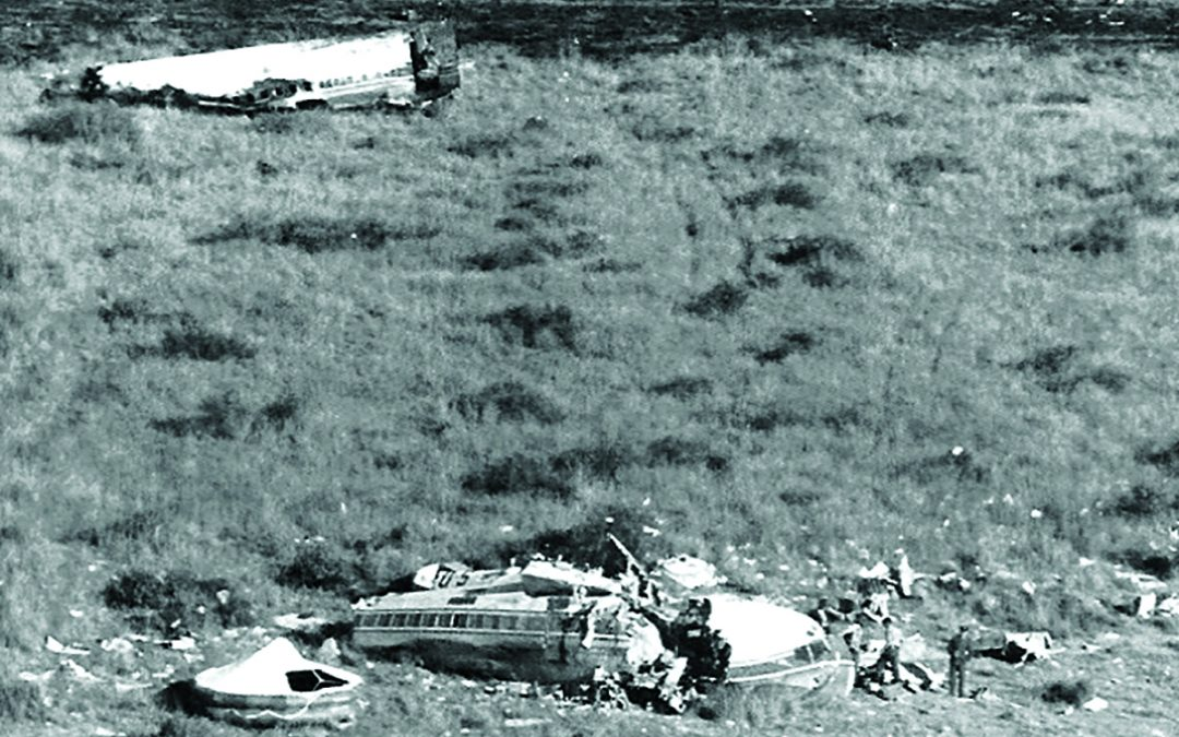 Aircraft disaster at Ondekaremba 50 years ago